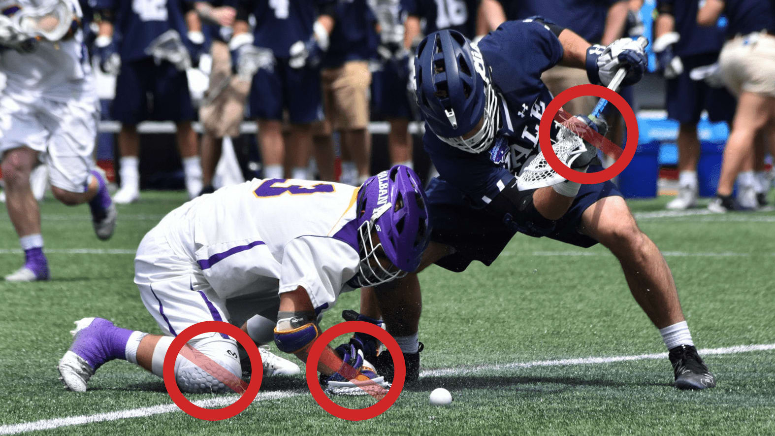 face-off rules change ryan conwell 2020 2021 yale albany
