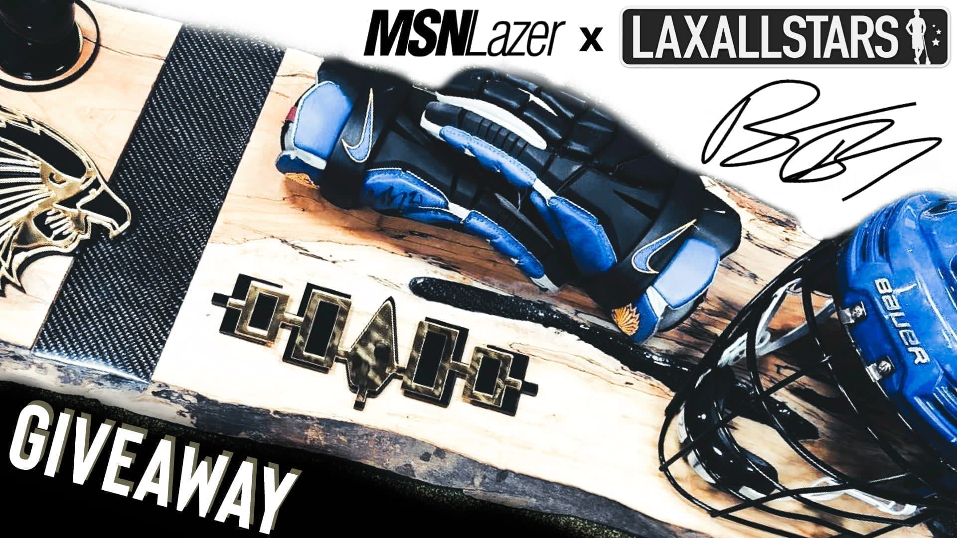 WIN a Brendan Bomberry x Iroquois Nationals (1/1) MSN Lazer Exclusive