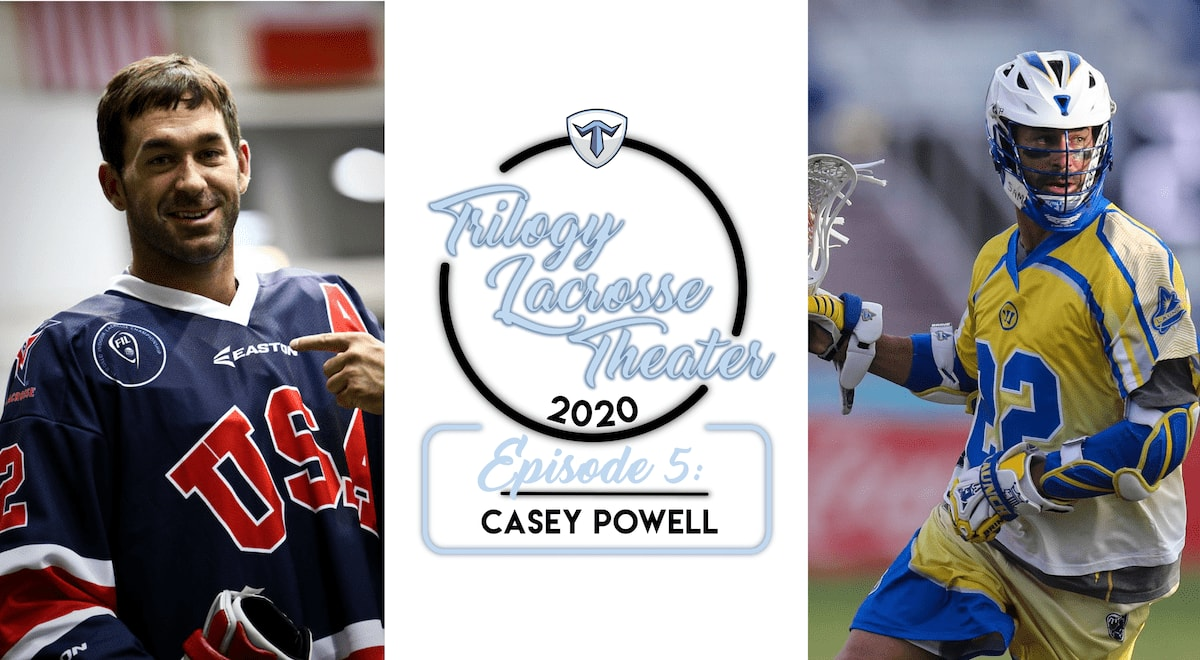 Casey Powell's EPIC Syracuse Comeback of 1997 Trilogy Lacrosse Theatre
