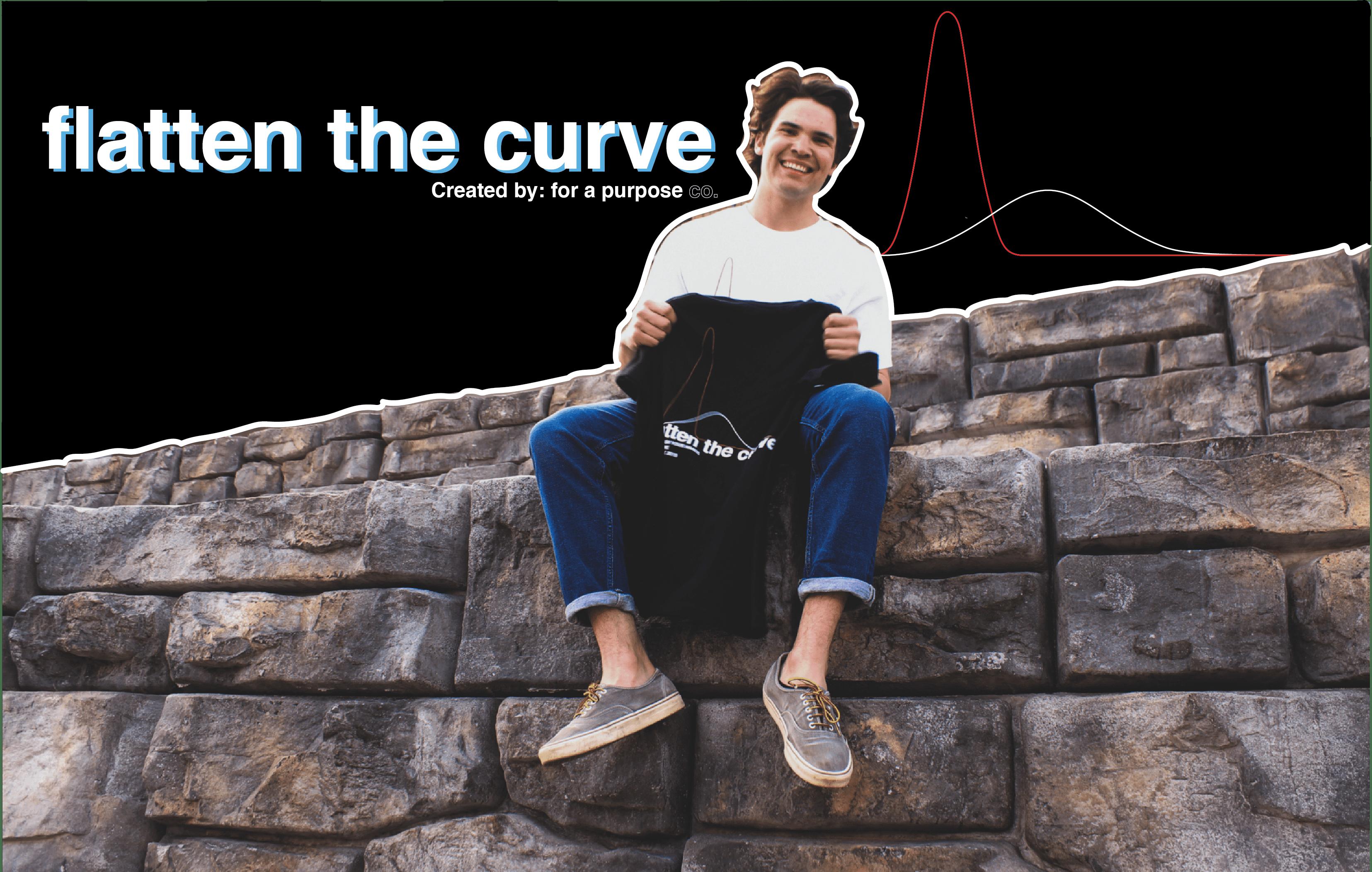 UVM Middies Jack Valentine Creates 'Flatten The Curve' Apparel for Good