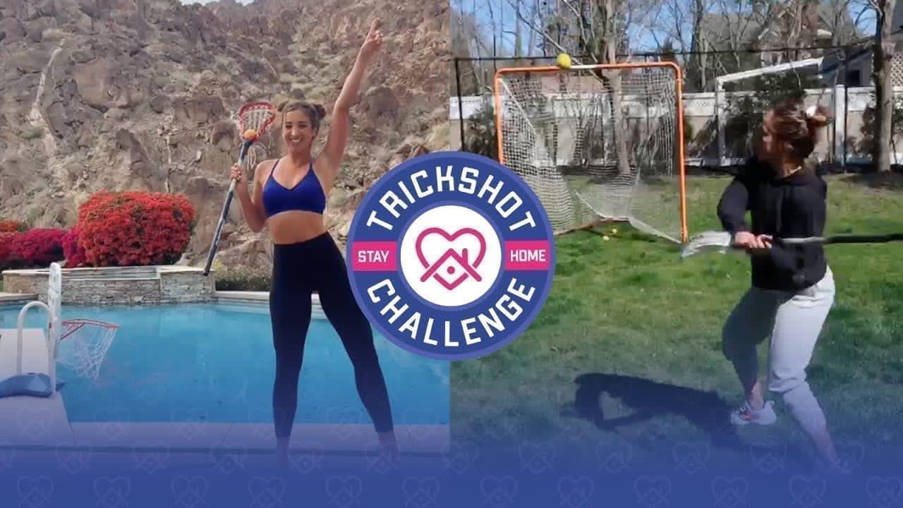 Stay at Home Trickshot Challenge