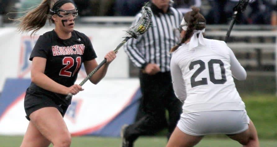 natalie wechter benedictine women's lacrosse naia lacrosse players of the week
