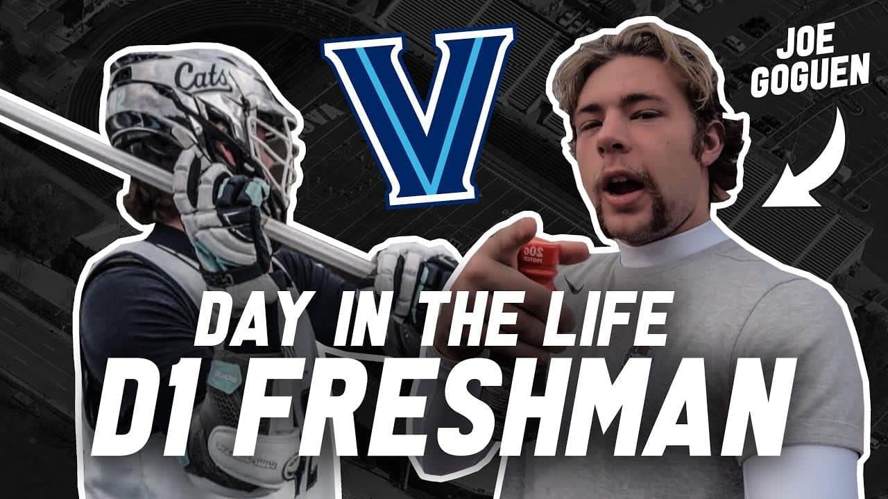 d1 lacrosse freshman video villanova lacrosse ncaa d1 college