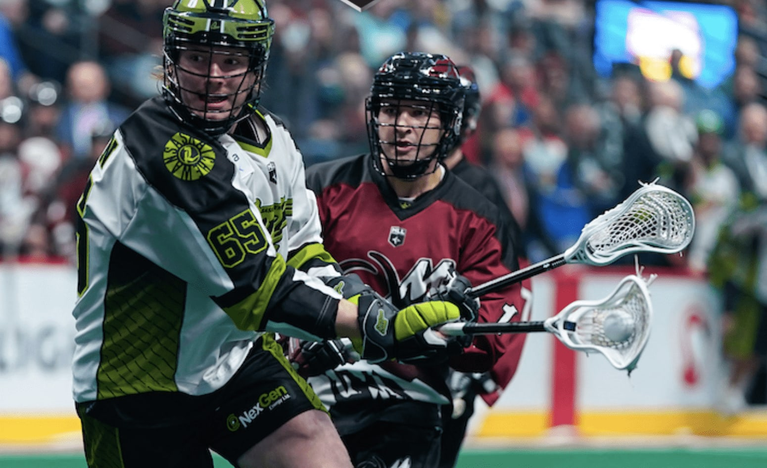 nll national lacrosse league colorado mammoth saskatchewan rush 2019-2020 nll season