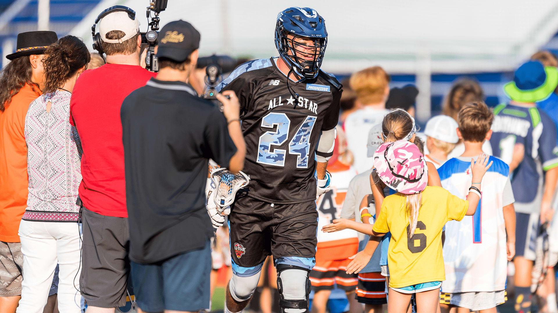 john grant jr all star game mll major league lacrosse