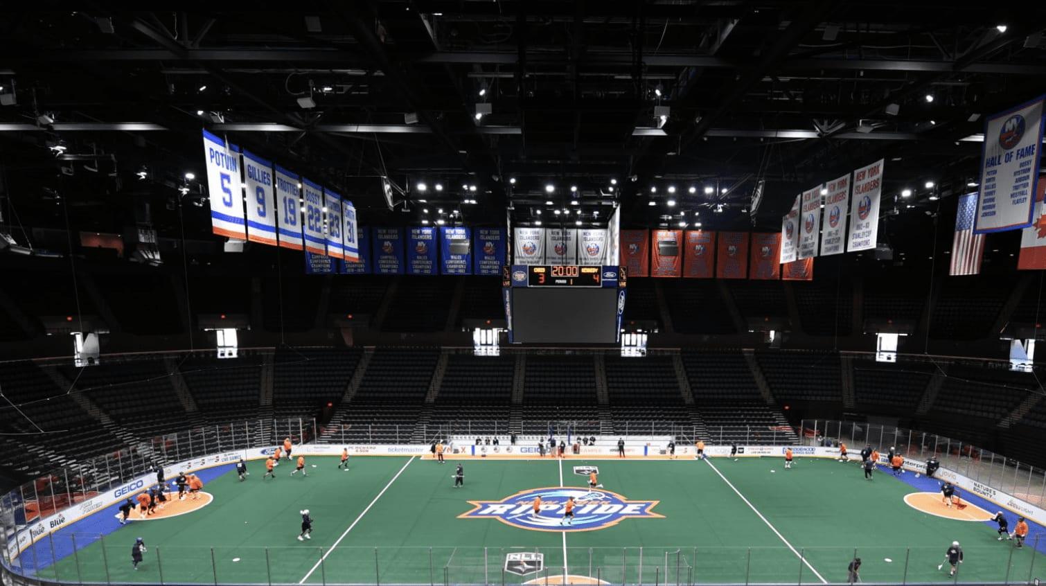 new york riptide nll national lacrosse league pro lacrosse box lacrosse
