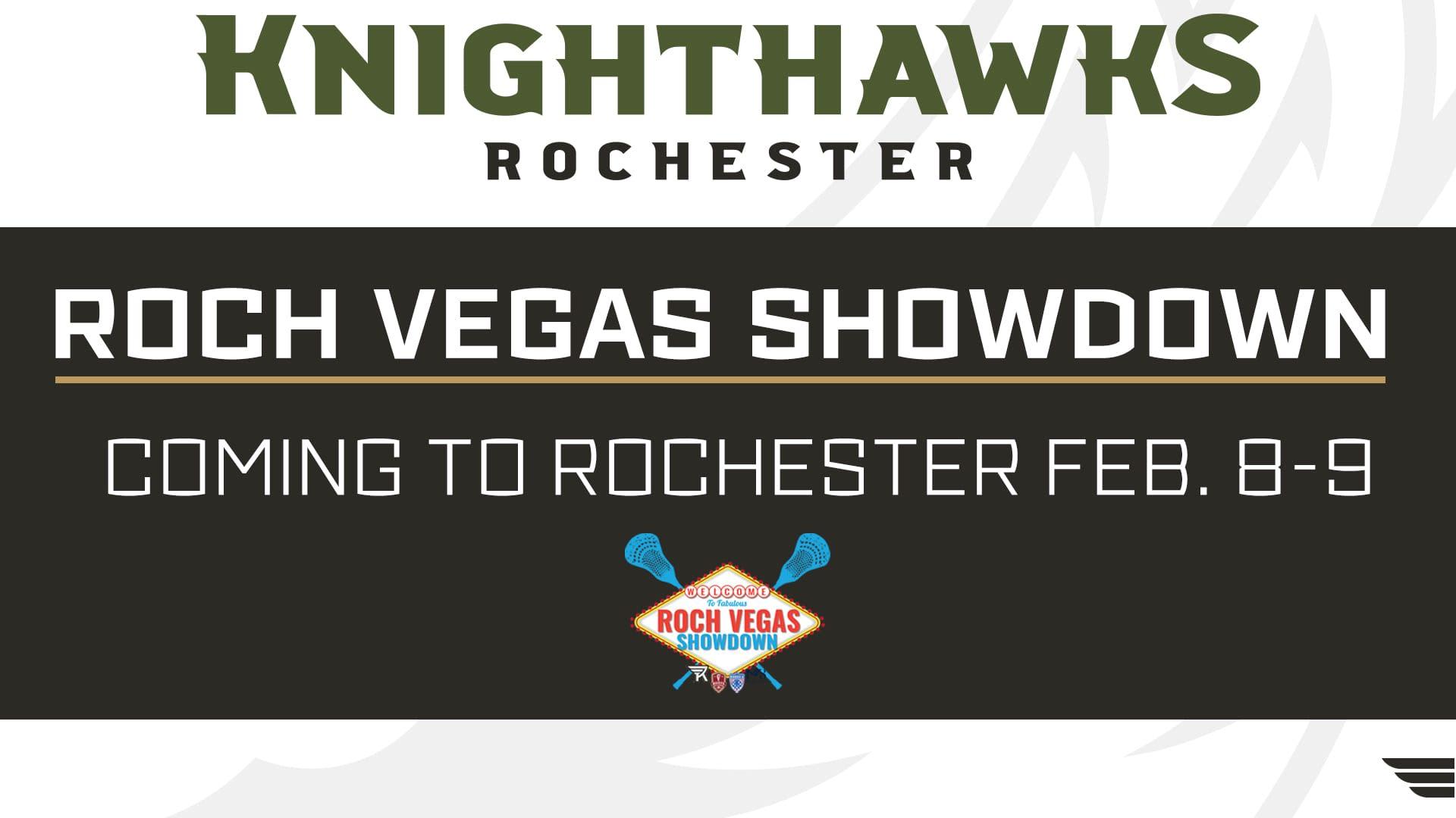 rochester knighthawks nll national lacrosse league roch vegas