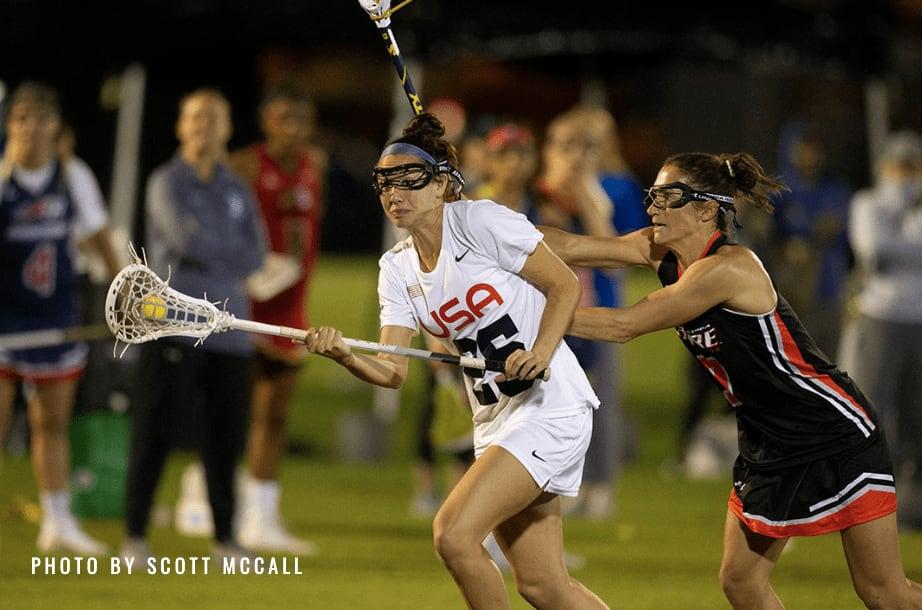 marie mccool us women's national lacrosse team wpll