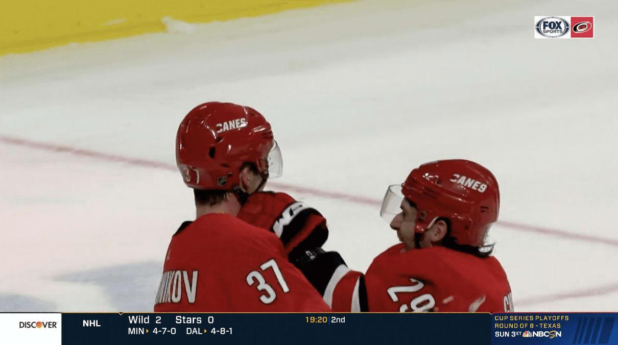 andrei svechnikov carolina hurricanes nhl national hockey league