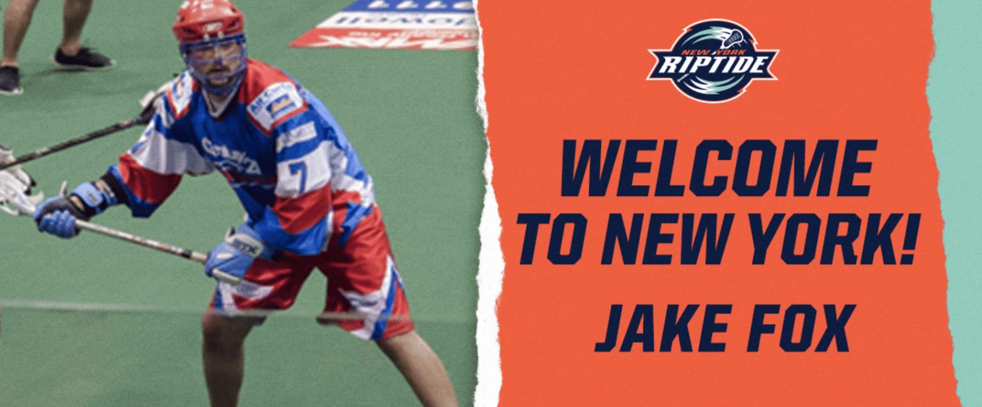 new york riptide jake fox nll national lacrosse league