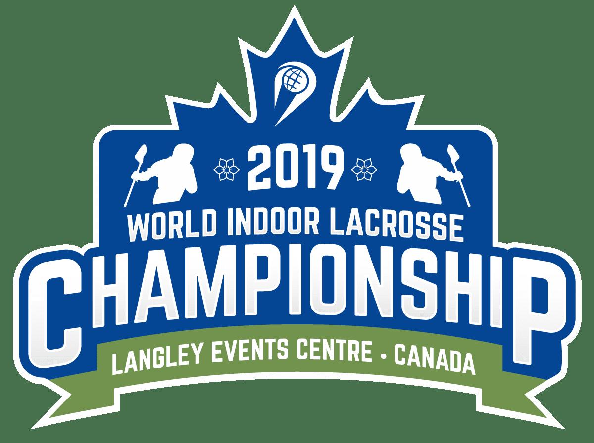 world indoor lacrosse championship 2019 logo