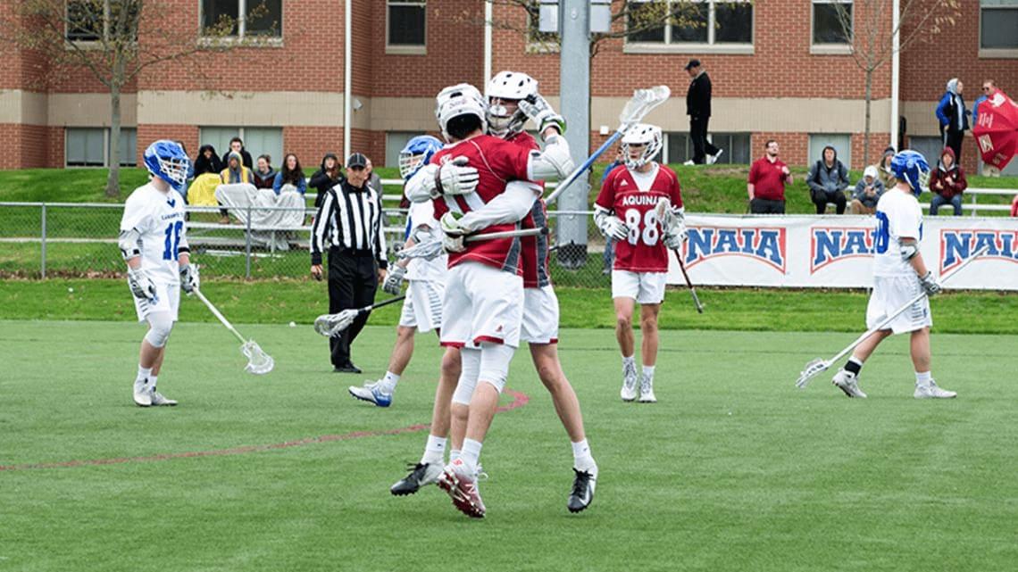 aquinas college naia lacrosse