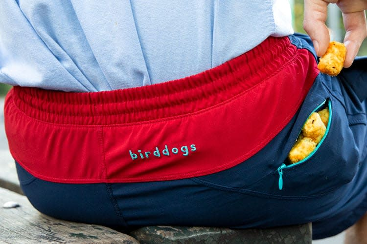 Birddogs Gym Shorts: built-in underwear