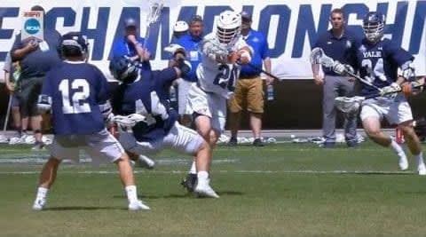 Biggest Hits From The 2019 NCAA DI Lacrosse Season caa lacrosse championship