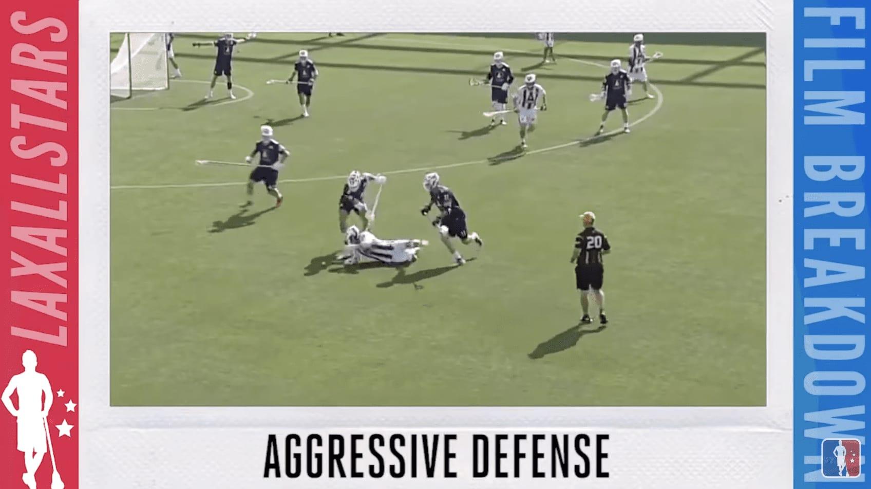 #filmbreakdown aggressive defense