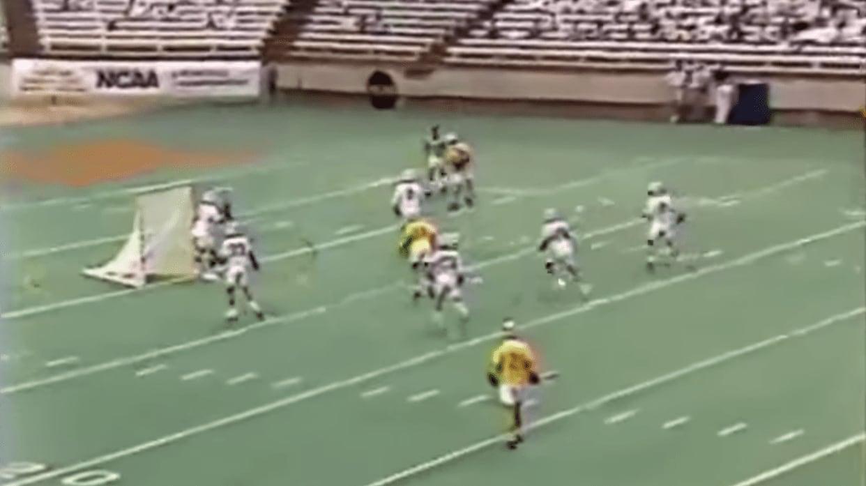 1991 ncaa lacrosse final towson unc