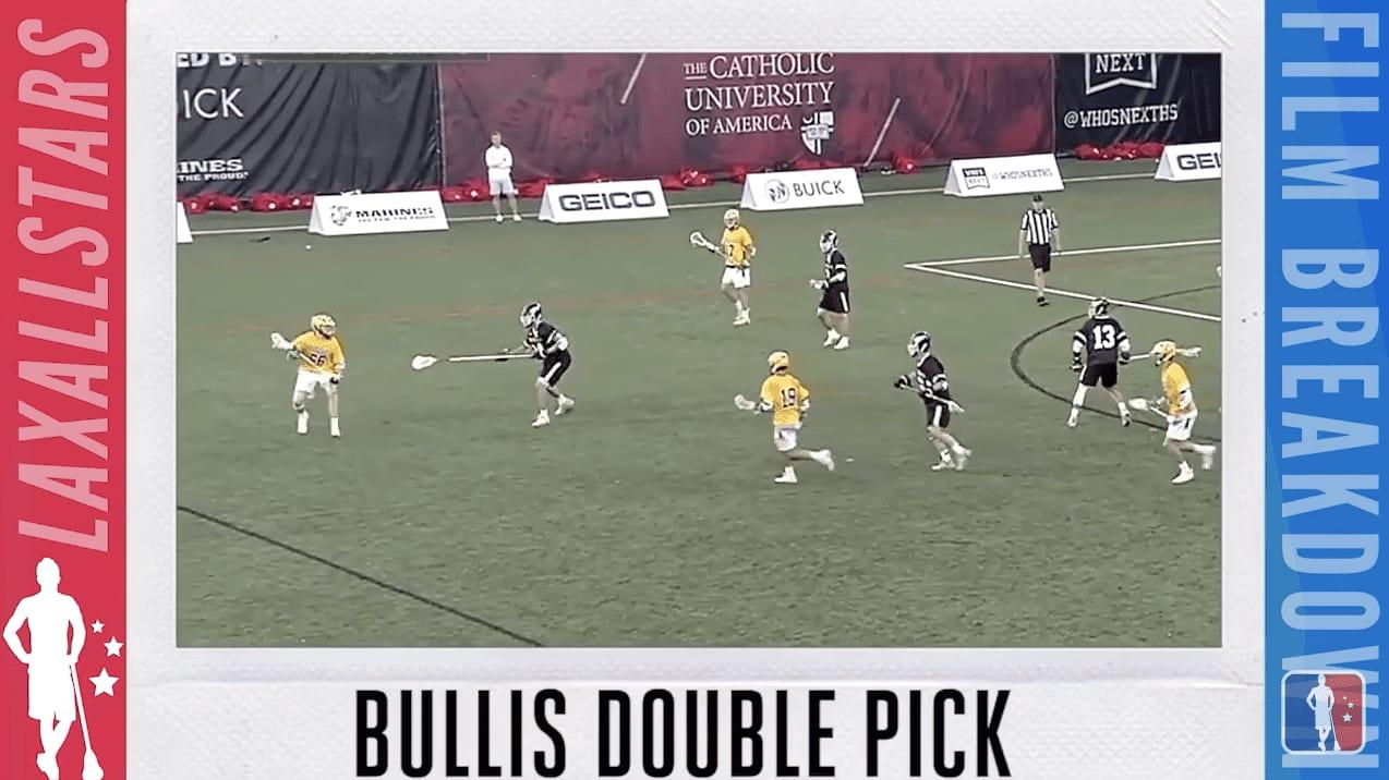 bullis double pick #filmbreakdown