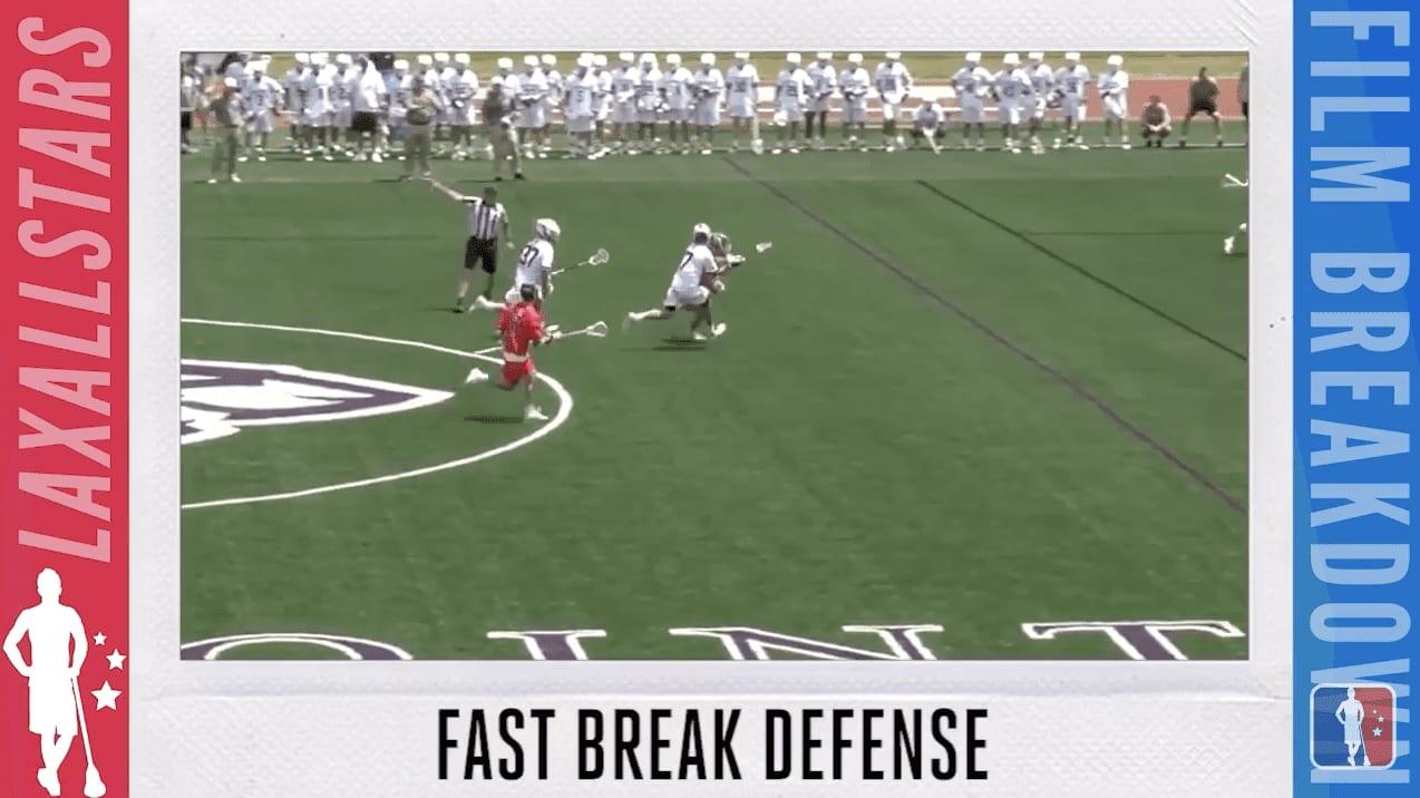 #filmbreakdown fast break defense