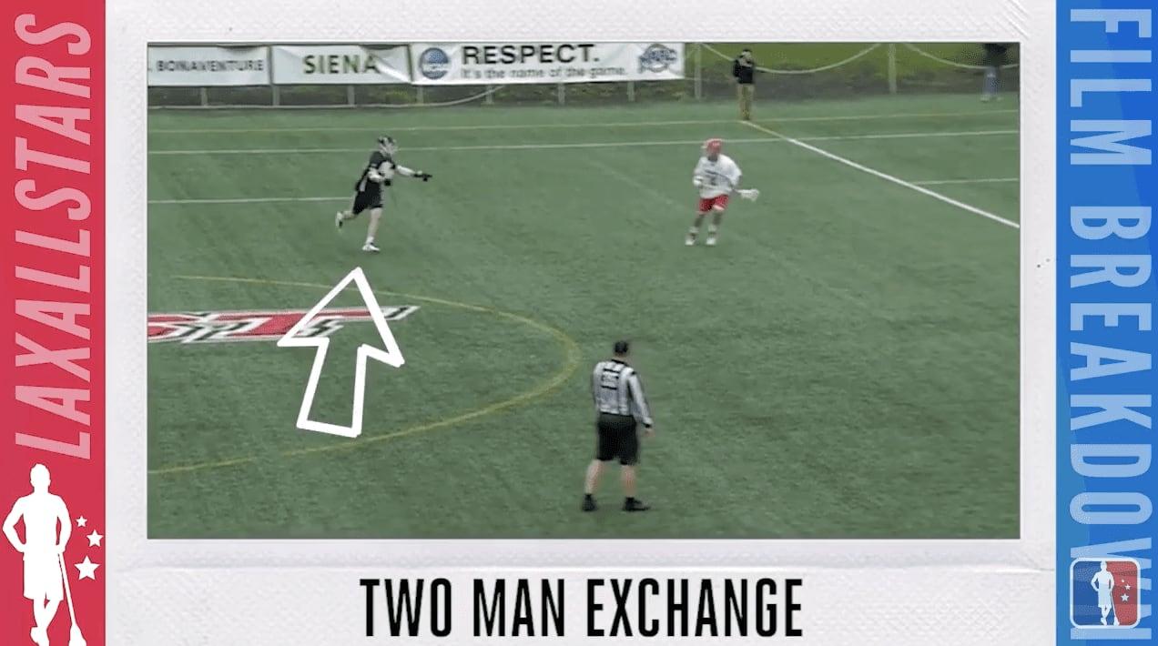two man exchange two man game #filmbreakdown