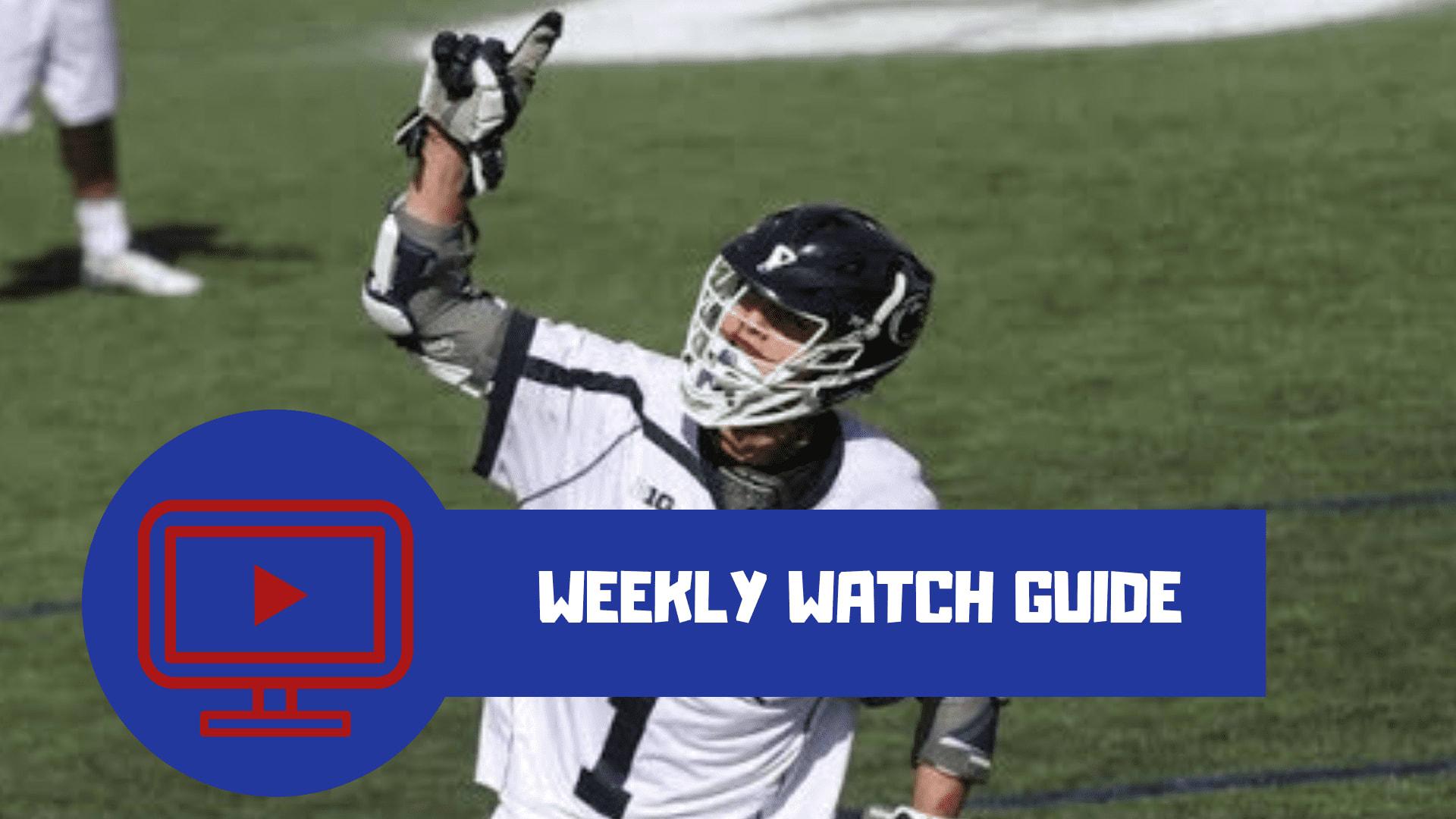 weekly watch guide tv