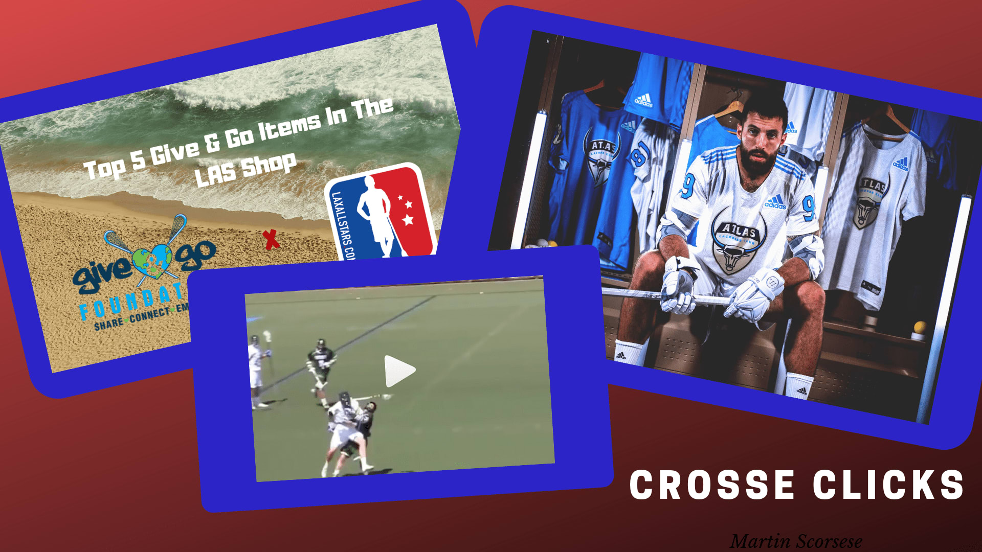 crosse clicks pll give and go lacrosse