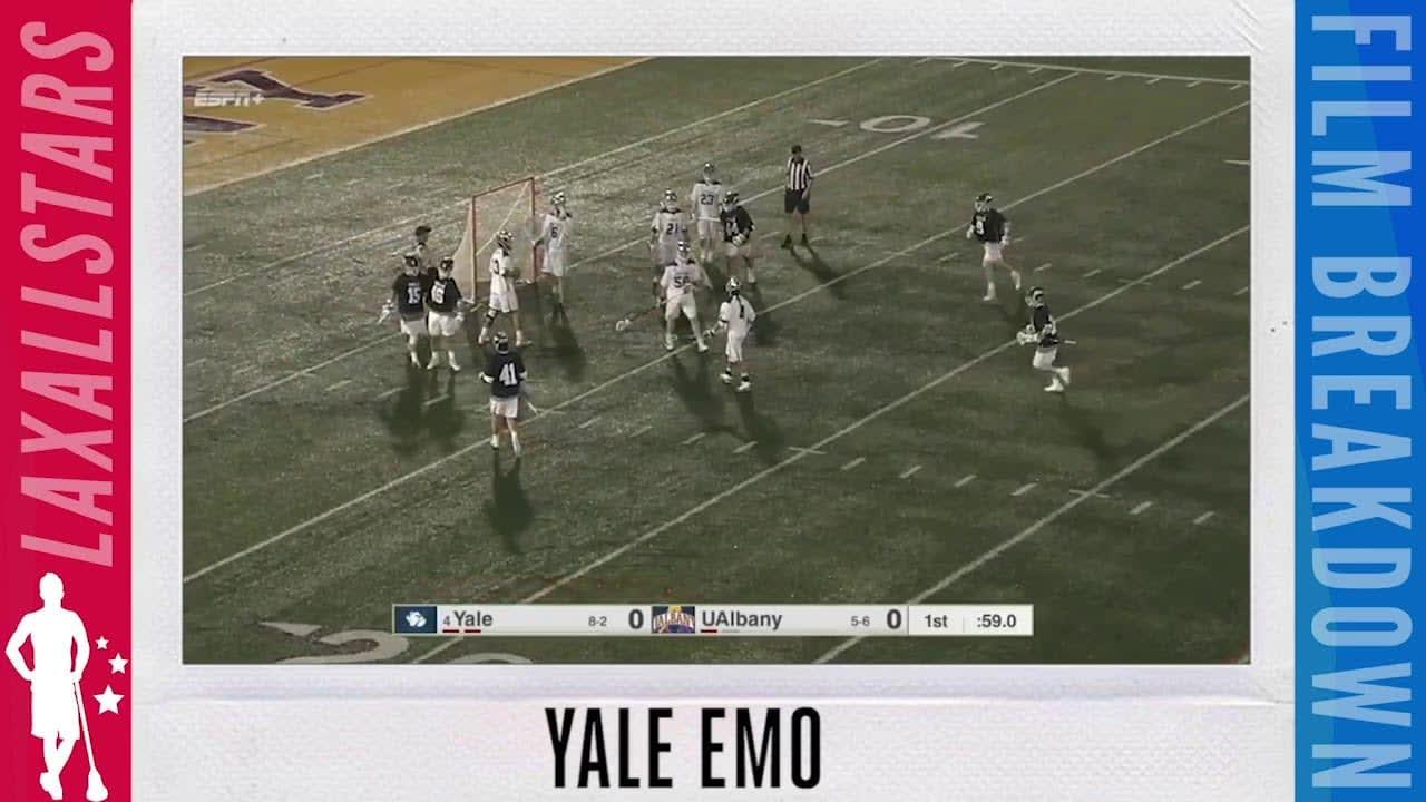 yale extra-man offense lacrosse