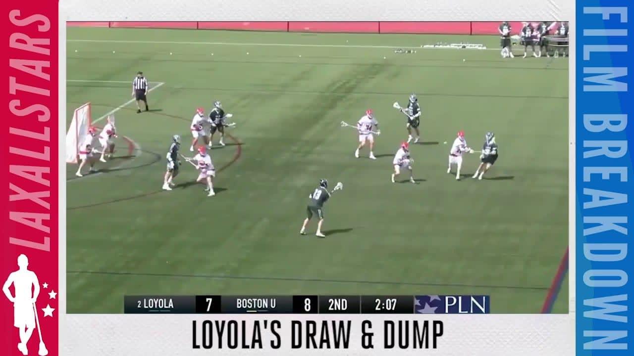 draw and dump loyola