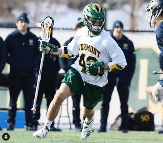 Vermont Catamounts Lacrosse the takeoff