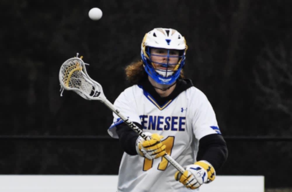 junior college report genesee lacrosse sam koczwara