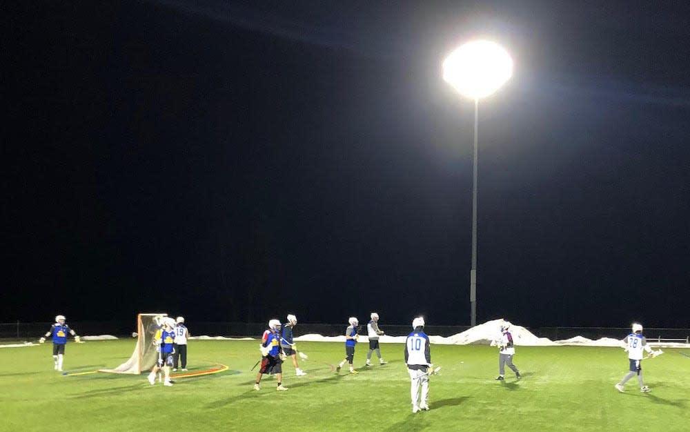 night lacrosse practice genesee cc njcaa