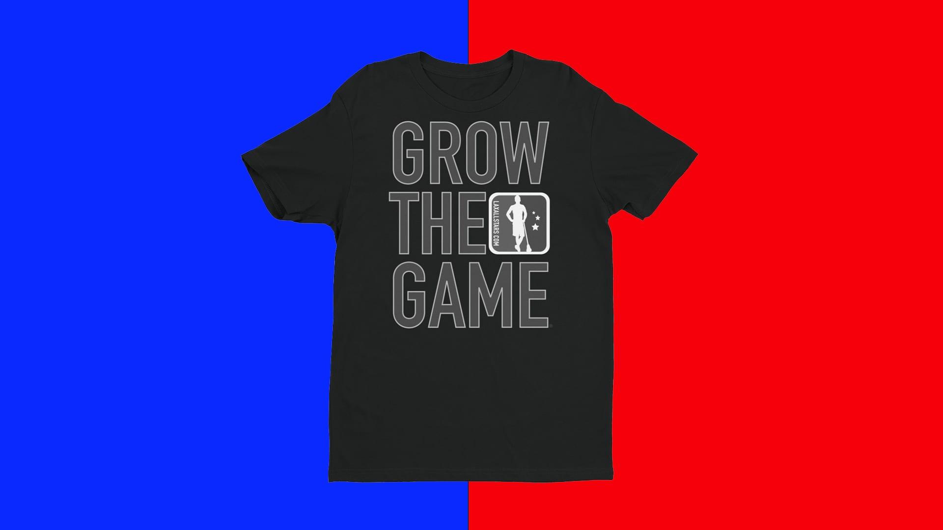 Custom Grow The Game Shirts