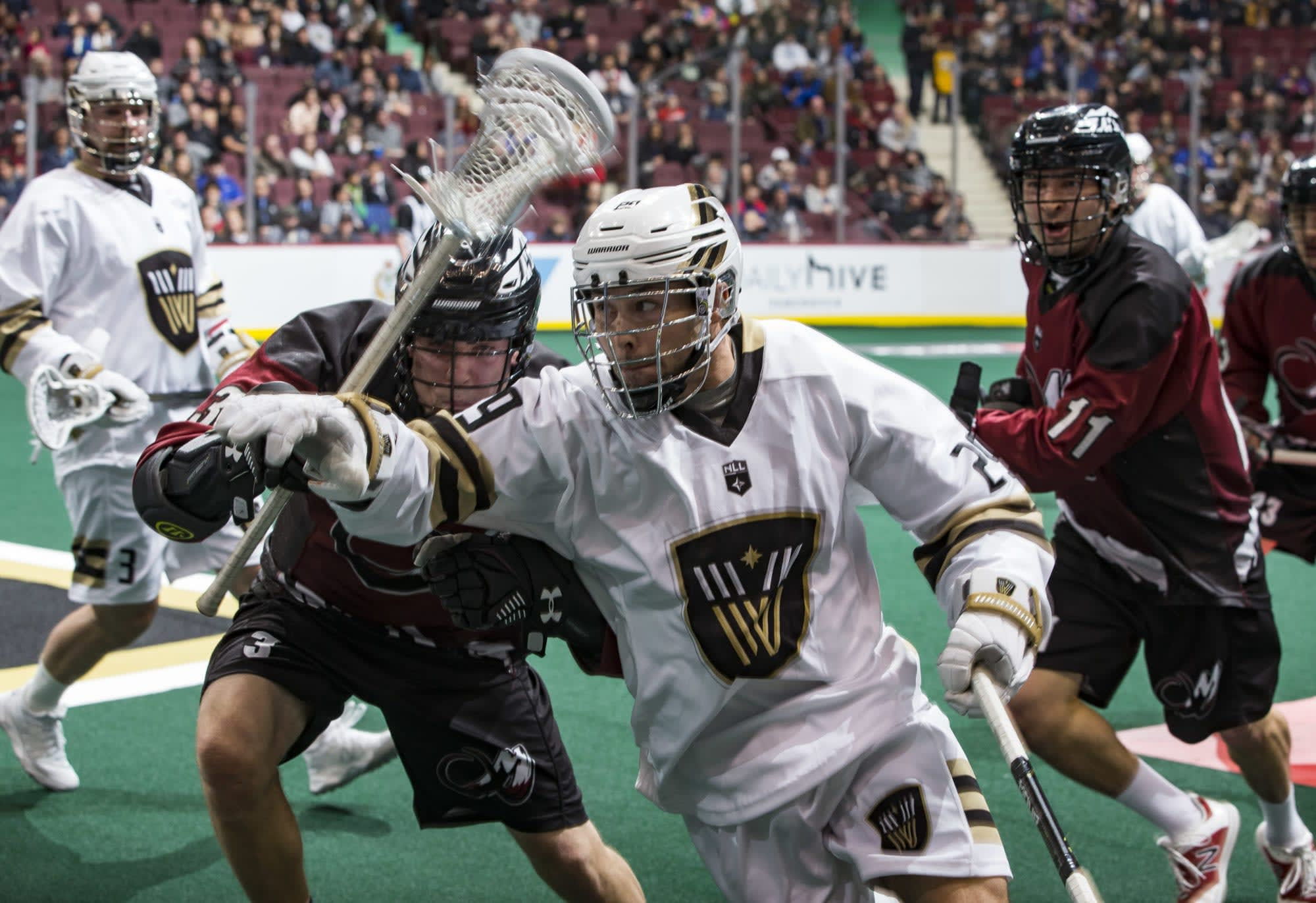 colorado mammoth vancouver warriors nll national lacrosse league