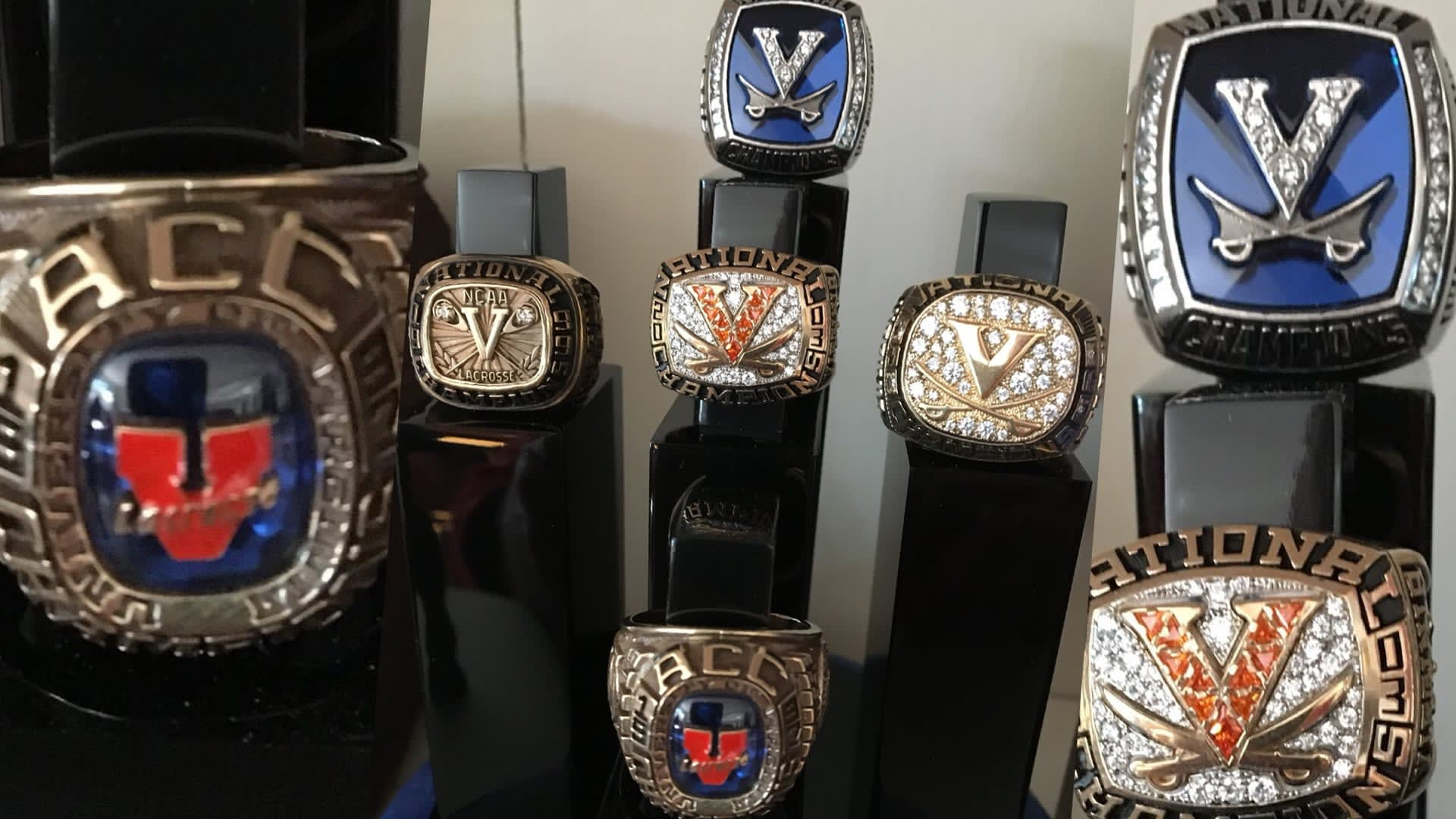 Dom Starsia has a lot of rings