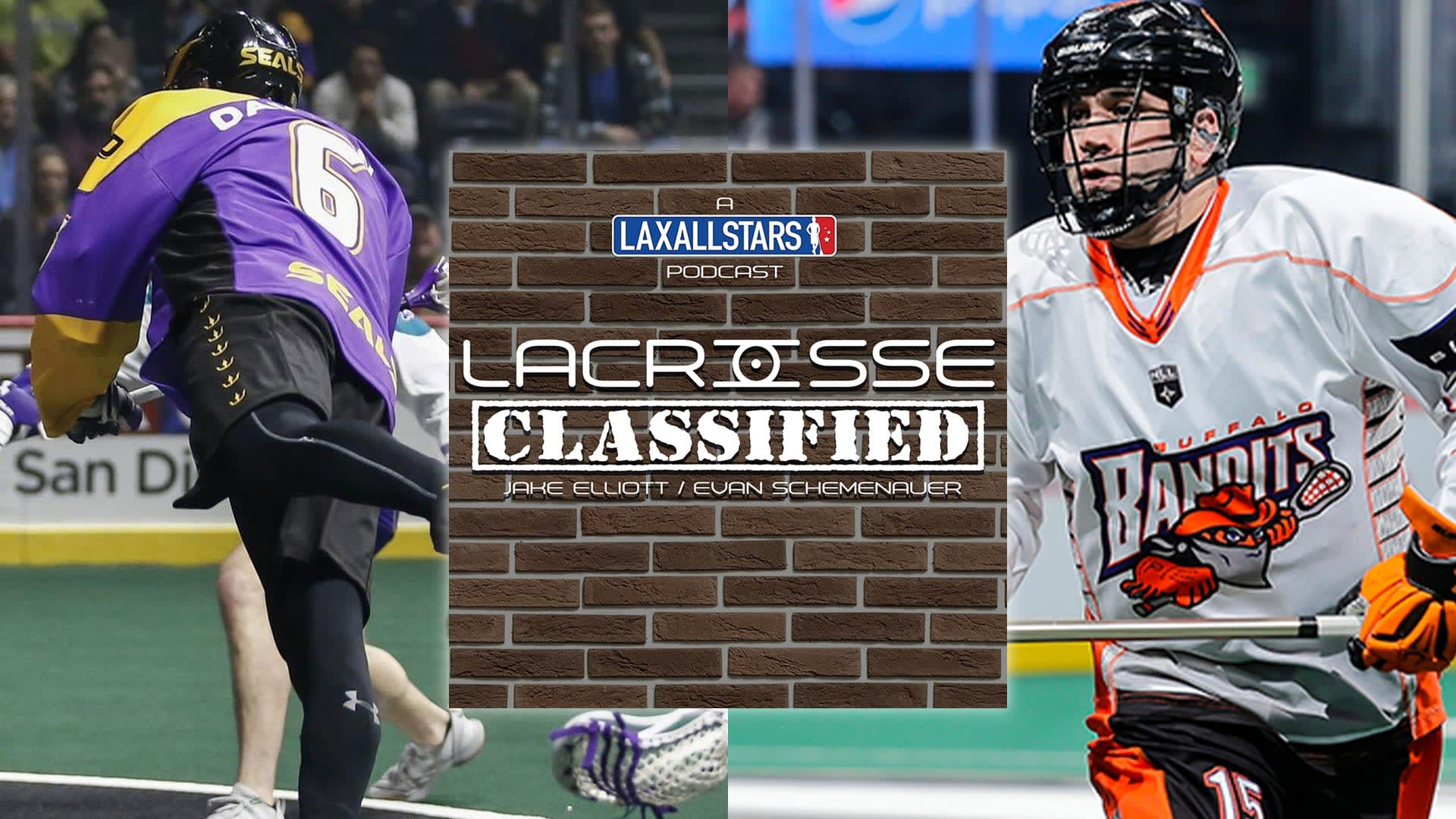 Shawn Evans and Dan Dawson on Lacrosse Classified Podcast