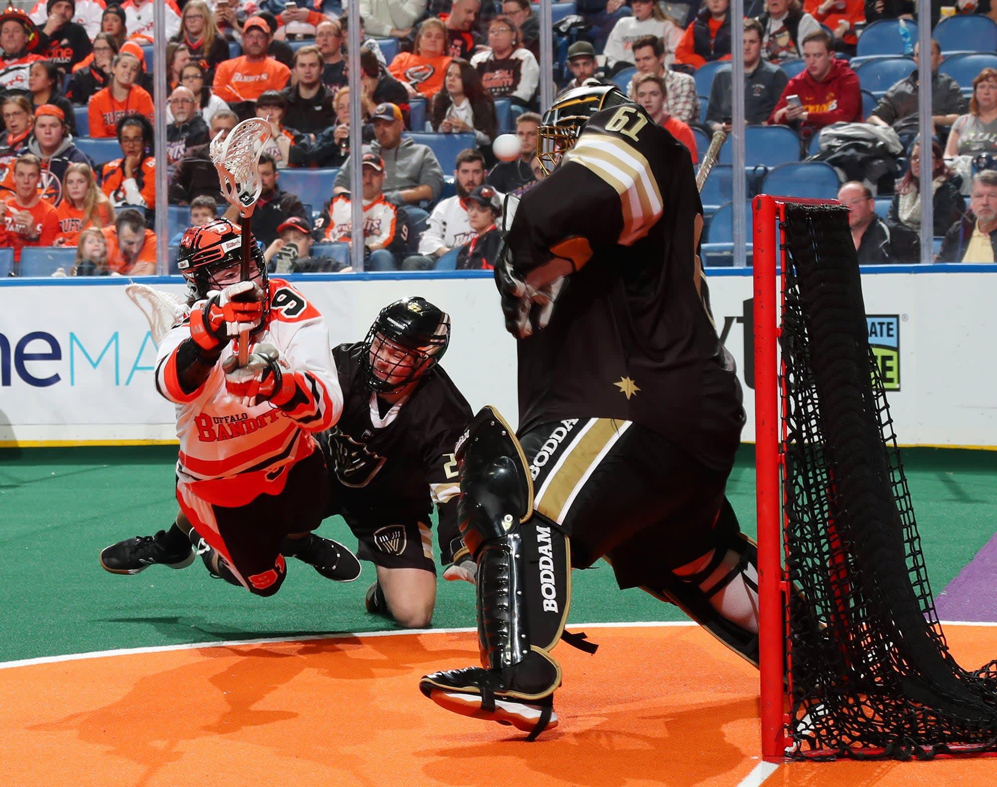 buffalo bandits vancouver warriors nll national lacrosse league