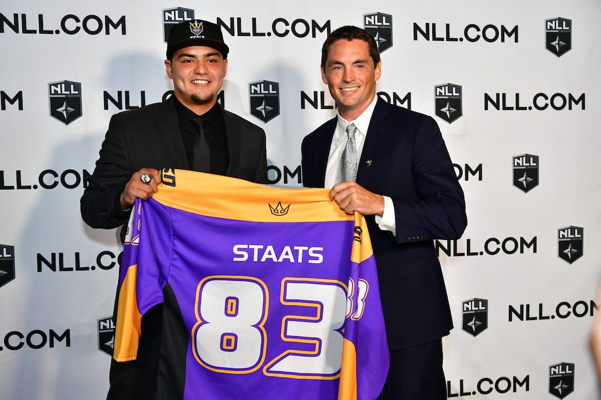 2018 NLL Entry Draft - Austin Staats