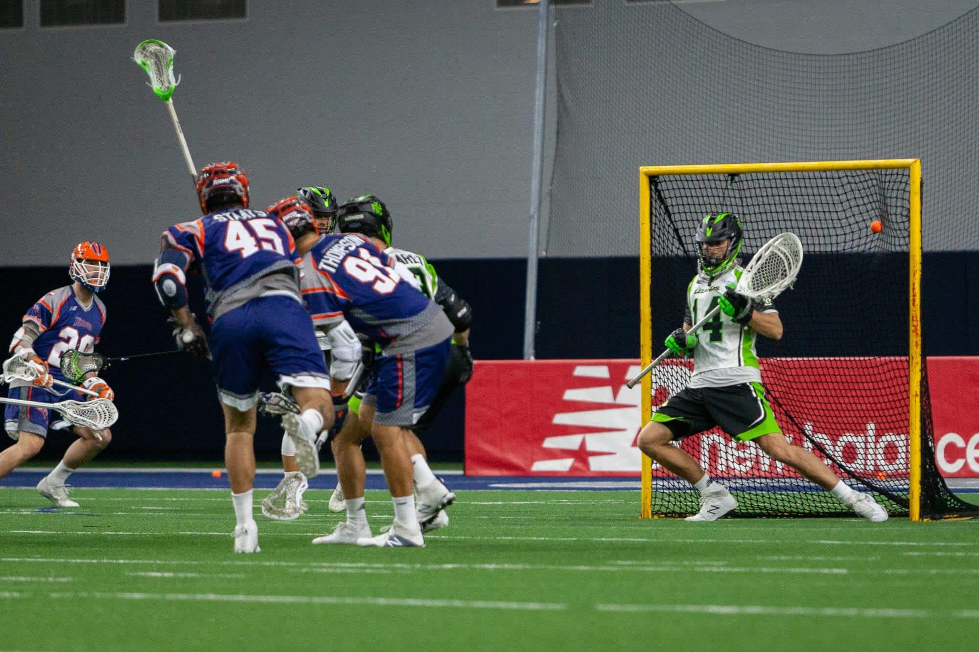 Dallas Rattlers New York Lizards Major League Lacrosse MLL 2018 Photo: Nick Coyne / LaxAllStars.com major league lacrosse
