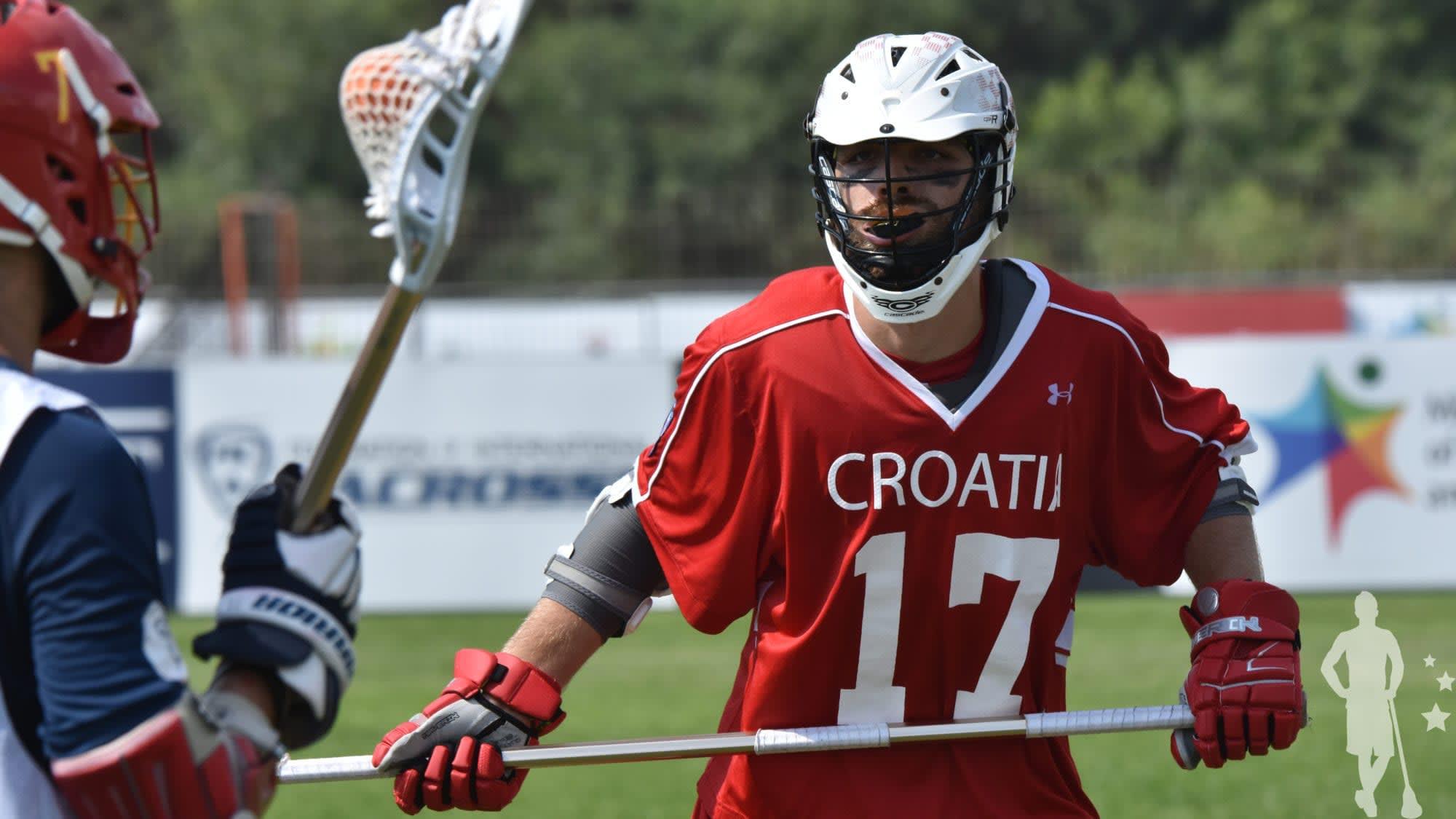 Croatia Spain Katie Conwell 2018 FIL World Lacrosse Championships world games