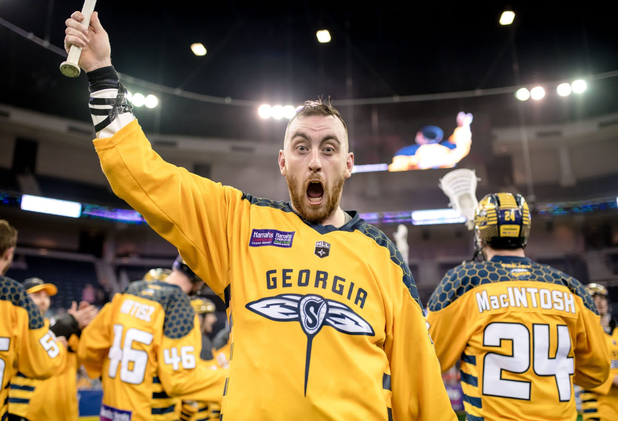 Georgia Swarm Vancouver Stealth NLL 2018 twitter reacts