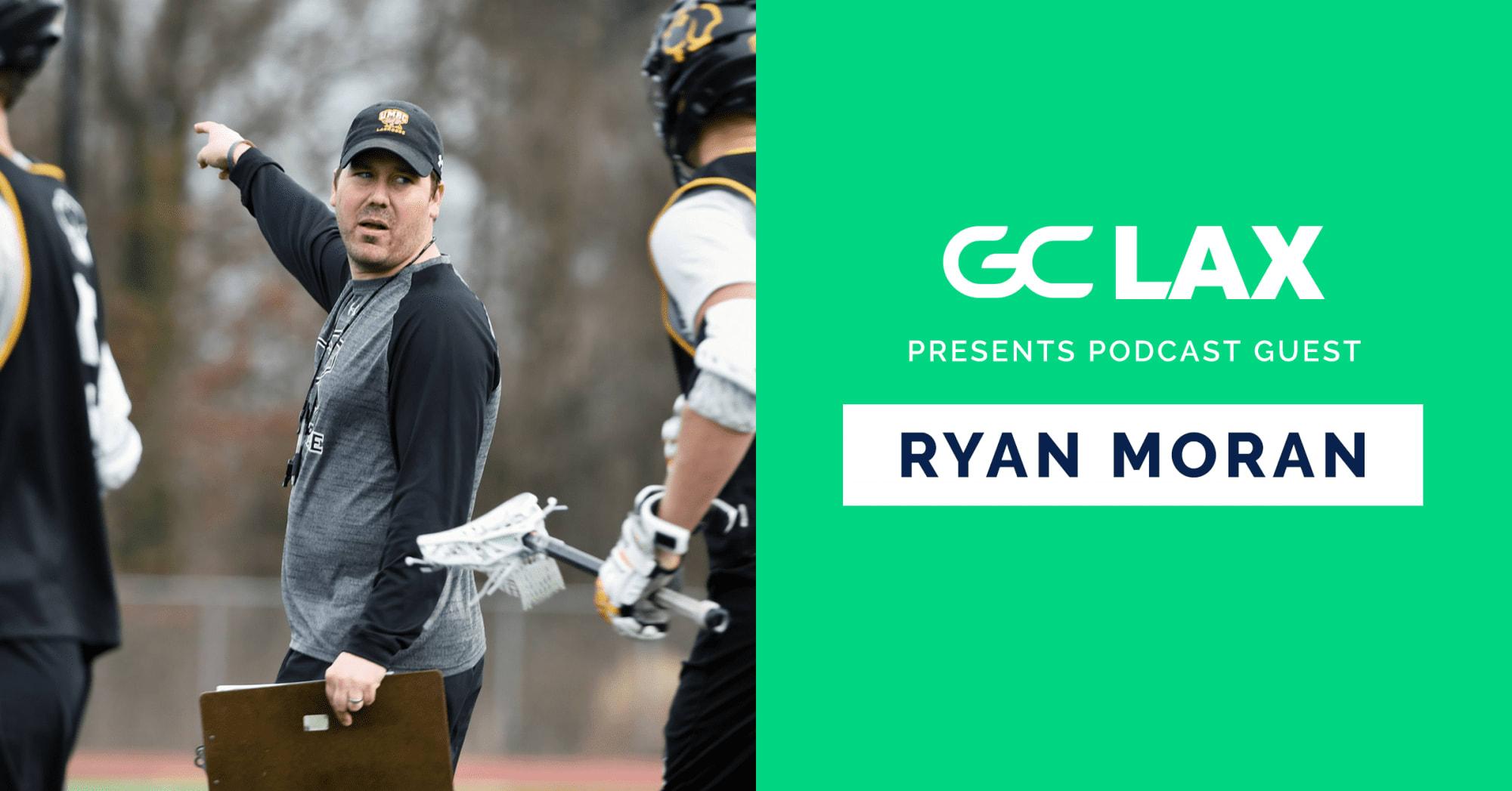 Ryan Moran UMBC men's lacrosse coach