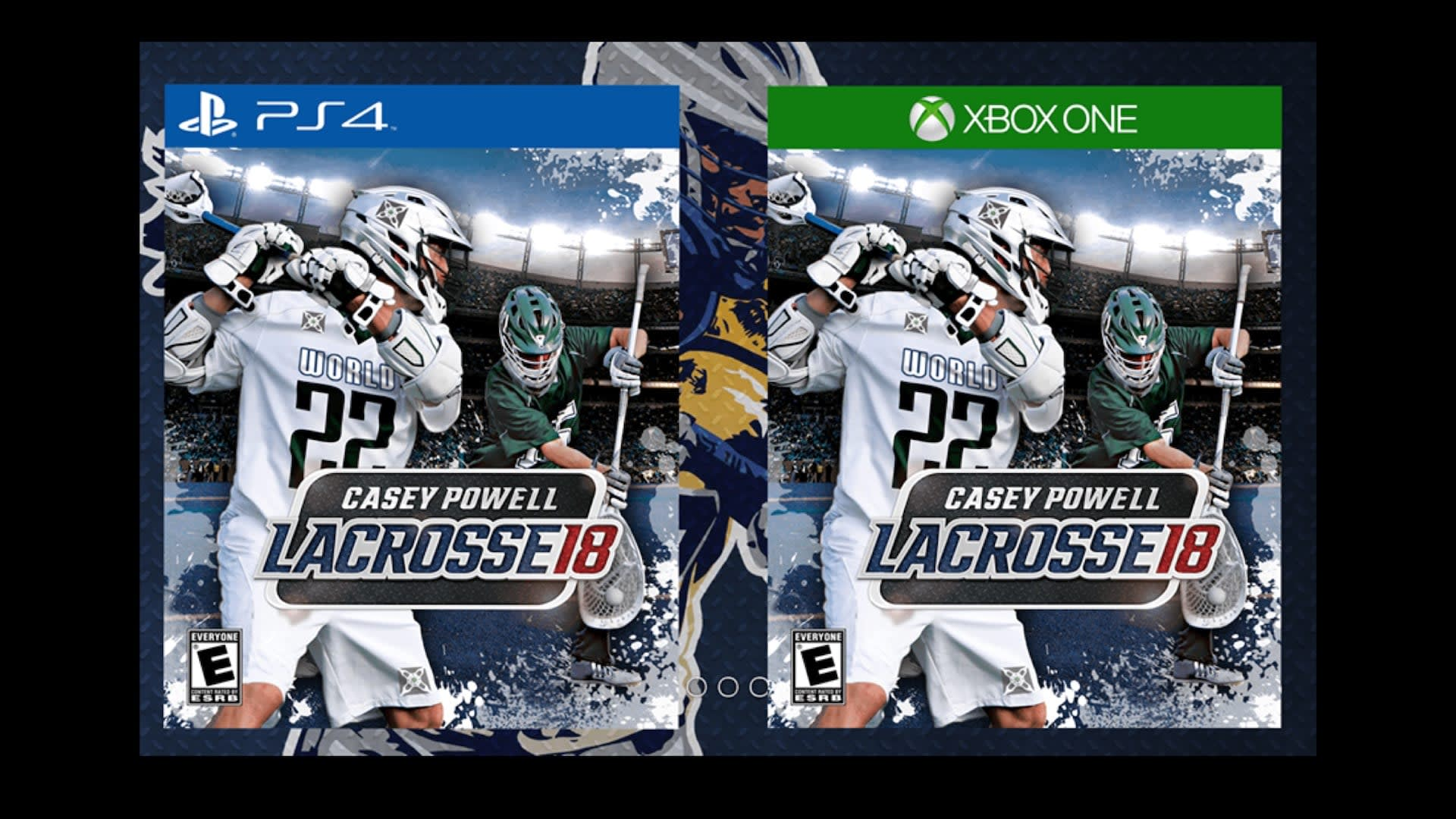 Casey Powell Lacrosse Video Game
