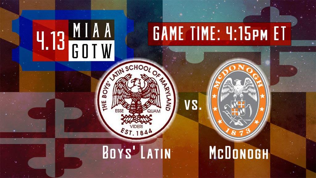 boys latin vs mcdonogh