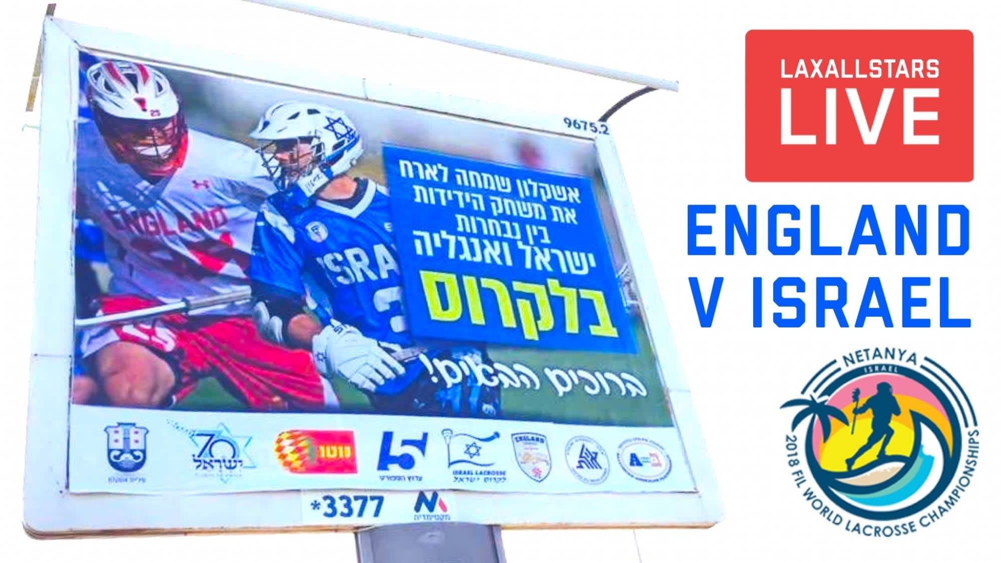 international lax game - england v israel