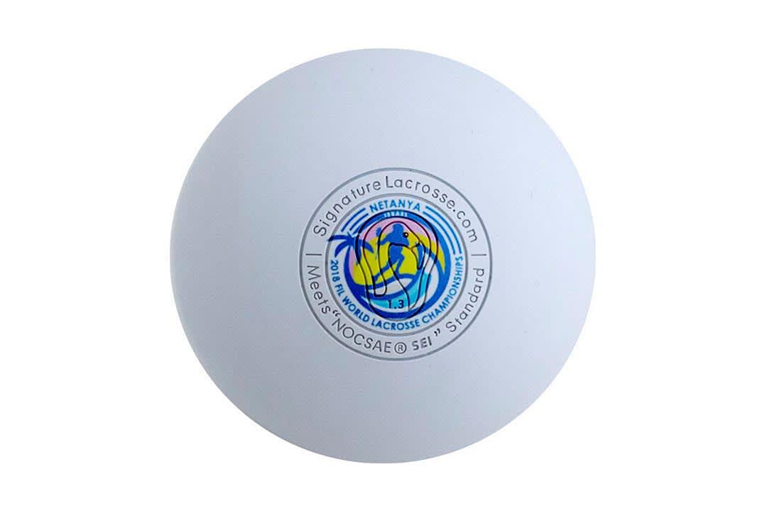 signature lacrosse ball