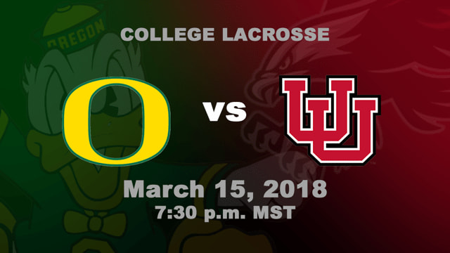 Utah Utes vs. Oregon Ducks