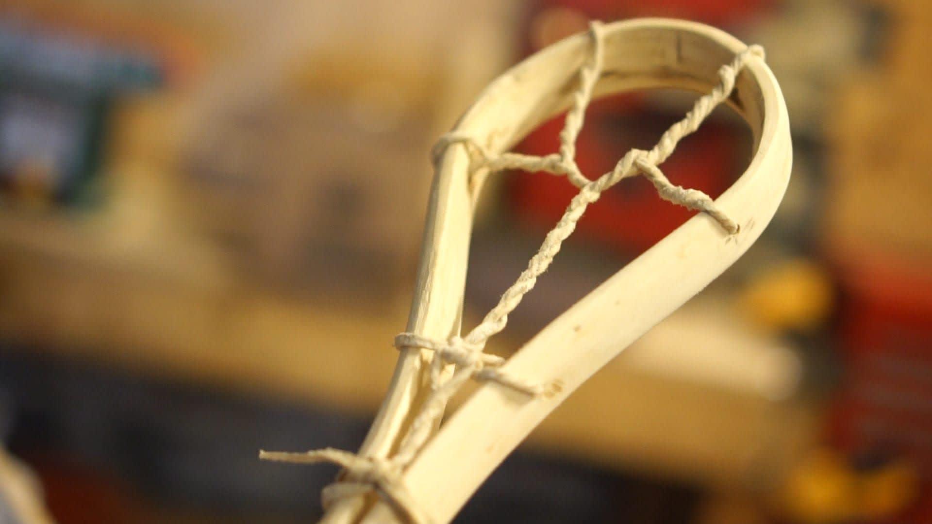 Czech Republic Wooden Lacrosse Stick Richard Kliment