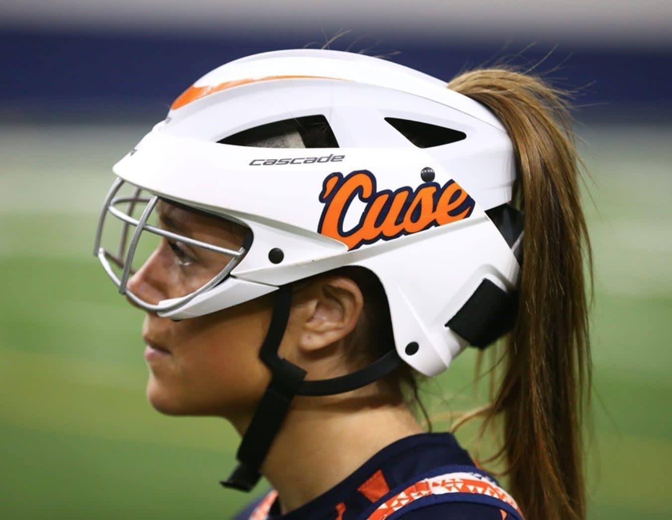 women's helmet: syracuse women's lacrosse