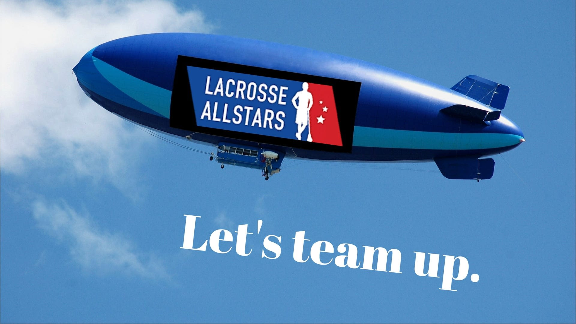 team up with lacrosse all stars