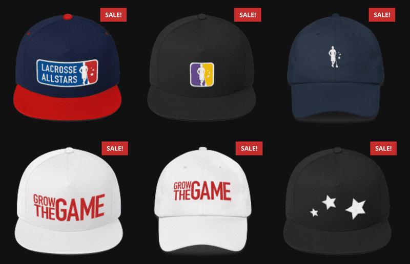 Lacrosse hats sale