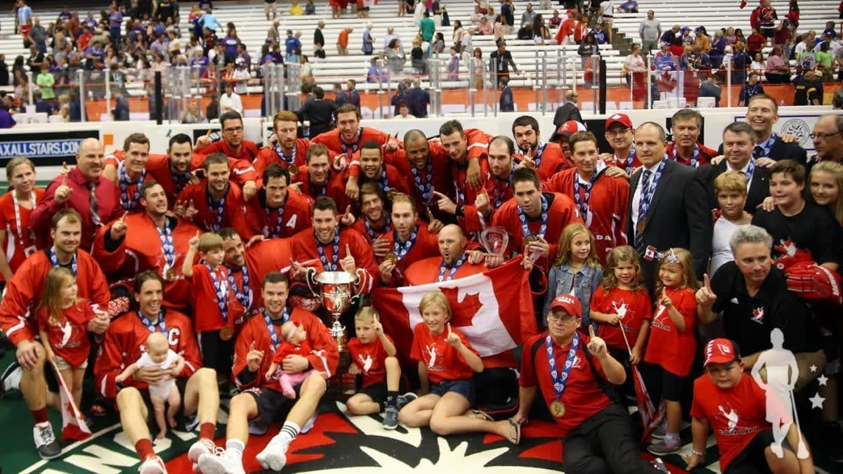 Canada - 2015 World Indoor Lacrosse Champions